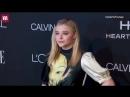 Chloë Grace Moretz on red carpet for Elle Women in Hollywood