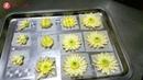 Cách Bắt Hoa Cúc Họa Mi Bằng Kem Bơ - How To Make Buttercream Daisy Flowers