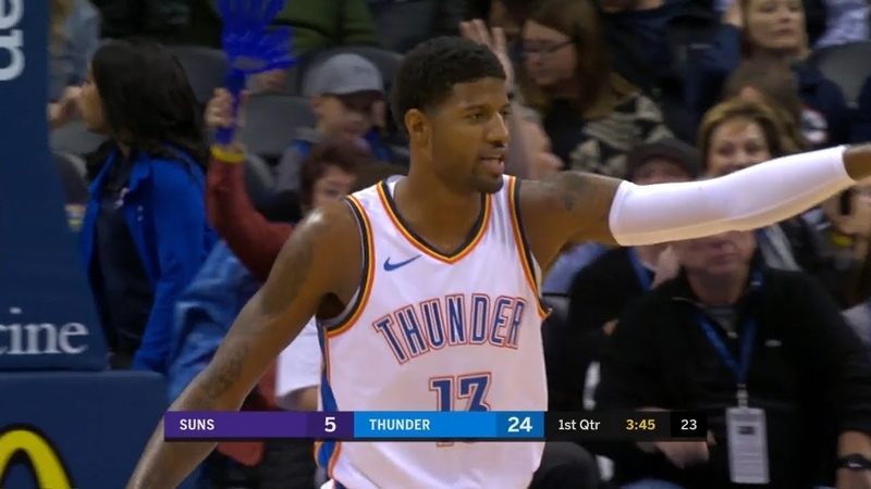 OKC Thunder's 22-0 Run vs Phoenix Suns | November 12, 2018 | 2018-19 NBA Season