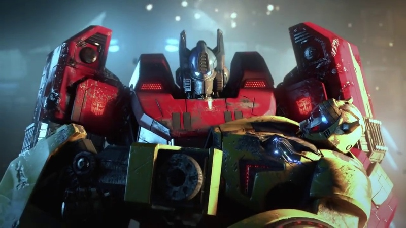 VGA Cinematic Trailer Official Transformers Fall of Cybertron Cinematic Video