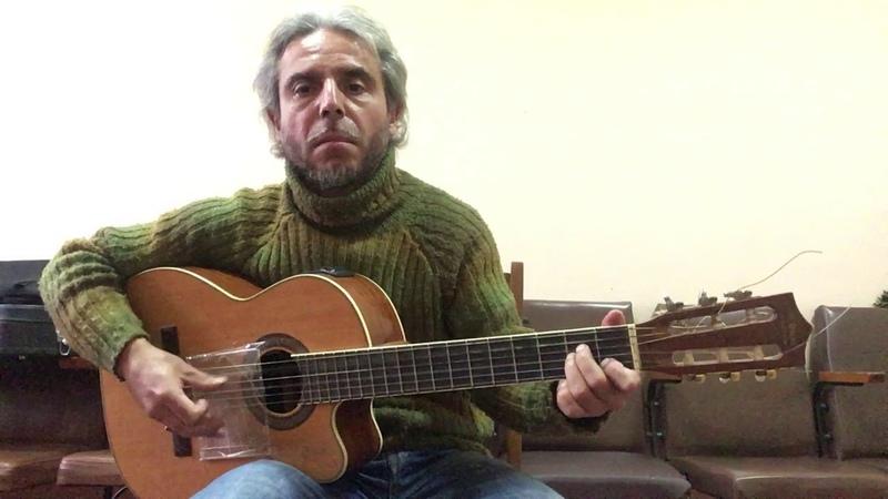 Агата Кристи -Как на войне- guitar cover Garri Pat