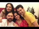 Actress Tabu with Family