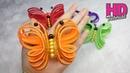DIY Cara Membuat Kupu Kupu Dari Busa Glitter Butterfly Handmade Ornaments Glitter Foam