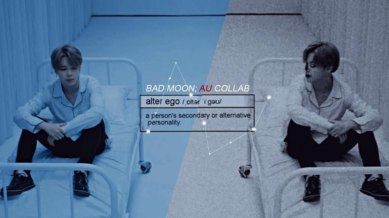 Bts Bad Moon au collab