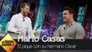 Pablo Motos descubre la razón del gran pique entre Mario y Óscar Casas - El Hormiguero 3.0