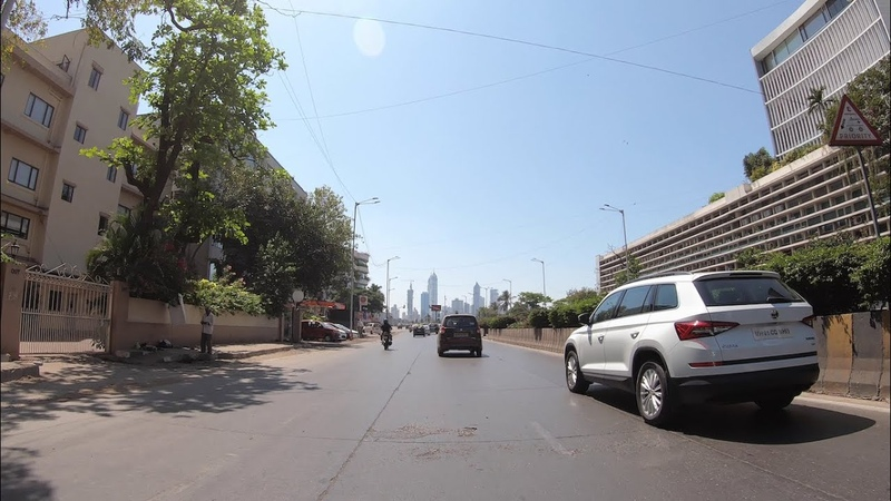 4K Drive in South Mumbai, IN