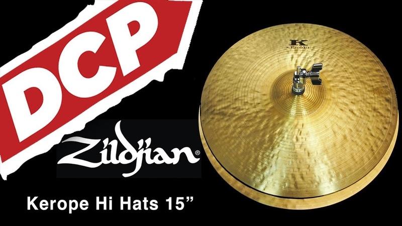 Zildjian Kerope Hi Hat Cymbals 15 1022/1222 grams KR15PR