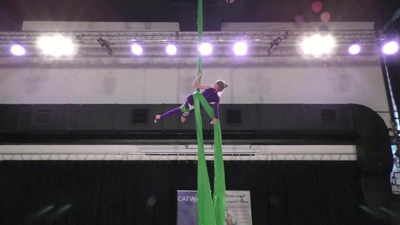 Анна Шайдорова Catwalk Dance Fest pole dance aerial 30 04 18