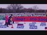 Лыжня России 2019 (Вова в синей куртке)