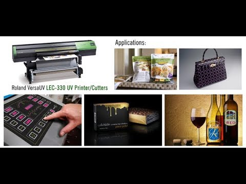30 Second-hand Roland LEC 300 Uv Printer and Cutter