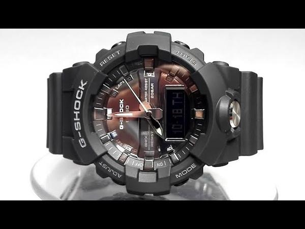 Casio G-Shock GA-810MMA-1A watch video 2018