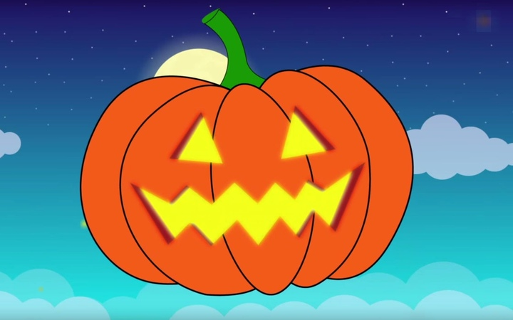 Jack-o'-lantern Song | Halloween pumpkin for children, kids, the whole family