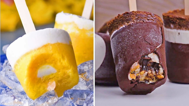 Fun Frozen Treats To Beat The Heat Ice Cream Popsicles Summer 2018 Recipes by So Yummy