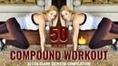 TOTAL BODY COMPOUND WORKOUT | Alexia Clark Exercise Compilation