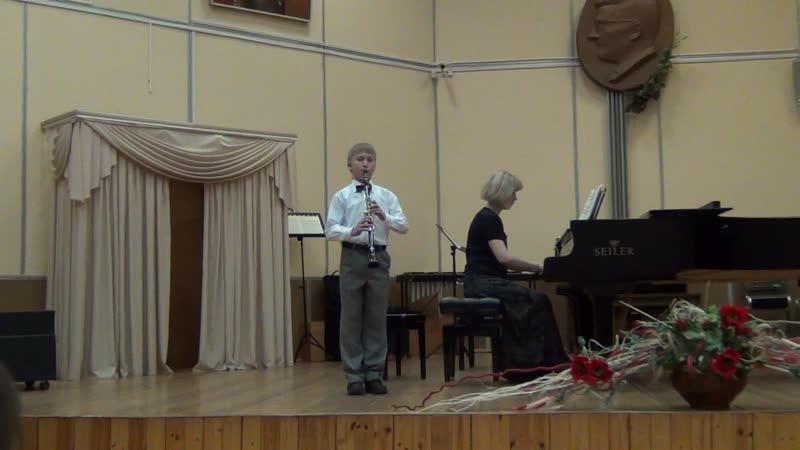 Mozart - allegretto. Соловей Будимирович.