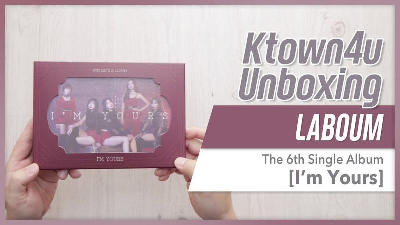 LABOUM - 6th Single Album [Im Yours] 라붐 언박싱 Kpop ラブーム