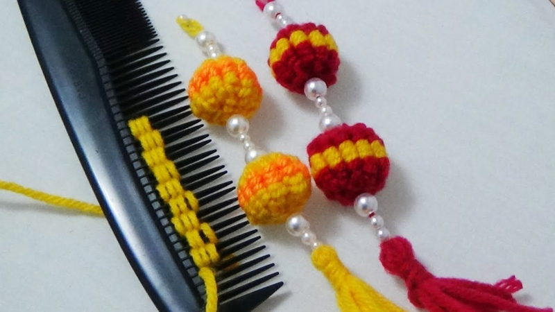 Hand Embroidery Hack to Make Tassels