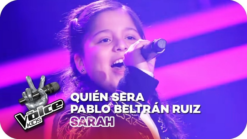 Pablo Beltrán Ruiz - Quien Será (Sarah) | Blind Auditions | The Voice Kids 2018 | SAT.1