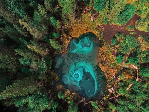 Гейзерное (голубое, серебряное) озеро