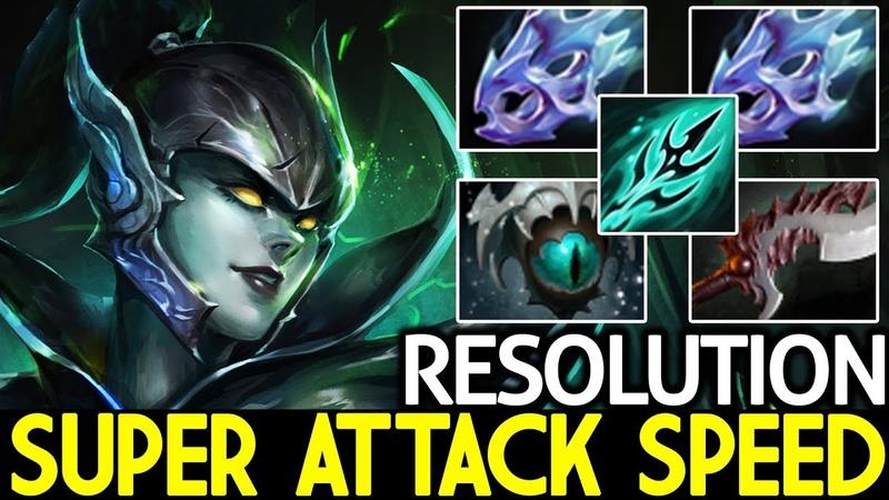Resolution [Phantom Assassin] Super Attack Speed WTF is This Damage? 7.19 Dota 2