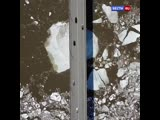 Река пошла: как в Томске проходит ледоход