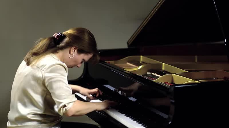 887 J. S. Bach – Prelude and Fugue in G-sharp minor, Well-Tempered Clavier II n. 18, BWV 887 - Veronika Kuzmina Raibaut