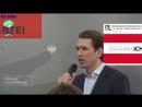 Offene Worte von BK Sebastian Kurz an die Österreicher Etwa unter Wahrheitsserum