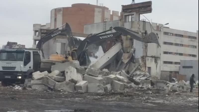 Строительный демонтаж спецтехникой ООО Энерго Инжиниринг