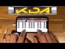 K/DA - 'POP STAR' on iPhone/아이폰 (Garageband)