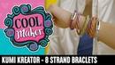 Cool Maker | KumiKreator | How to Make an 8-Strand Bracelet
