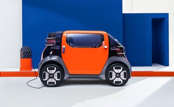 Citroen представил сверхкомпактный электрокар, которым можно управлять без водительских прав.