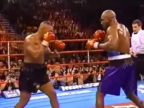 Легендарный бой Тайсон Холифилд откушенное ухо