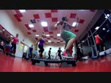 Степ-аэробика, тренер: Марина Гороховская (Ширкунова), ФК Пластилин ТЦ Панорама