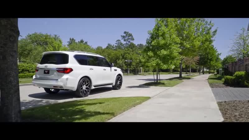 2018 Infiniti QX80 Ferrada Wheels FT3