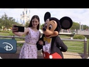 'The Nutcracker and the Four Realms' Star Mackenzie Foy Visits Walt Disney World Resort