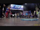 Даня Кросс vs Повер Джи первый круг