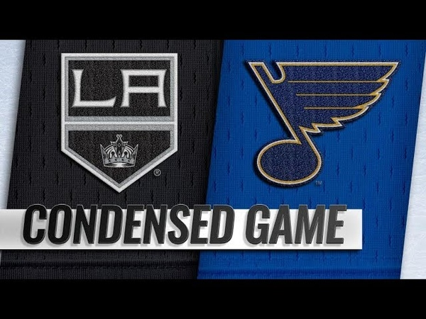 Los Angeles Kings vs St. Louis Blues | Nov.19, 2018 | Game Highlights | NHL 2018/19 | Обзор матча