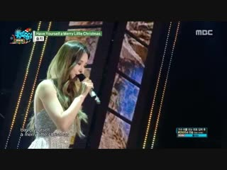 [special stage] exid solji - have yourself a merry little christmas