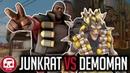 JUNKRAT VS DEMOMAN RAP BATTLE by JT Music Overwatch vs TF2