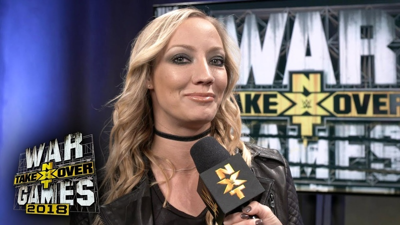 For which Superstar does Nita Strauss want to write a theme song WWE Exclusive, Nov. 17, 2018