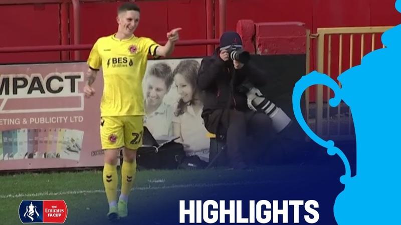 Alfreton Town 1-4 Fleetwood Town | Round 1 | Emirates FA Cup 201819