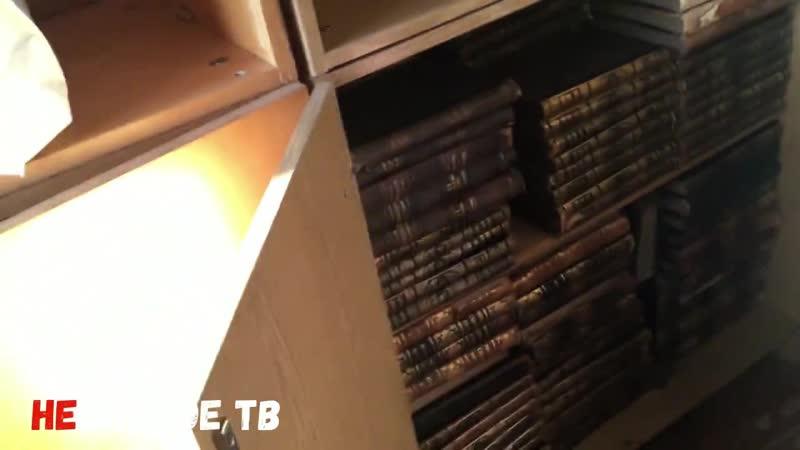 В школе Горки идет бесконтрольный вывоз ценнейших книг из библиотеки без всяких документов