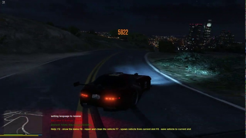 DRIFT IN GTA 5 RAGE MP