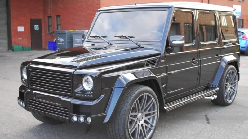 Auto Audio Installations london G55 BRABUS custom