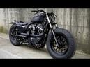 Harley Davidson Sportster custom Guerrilla