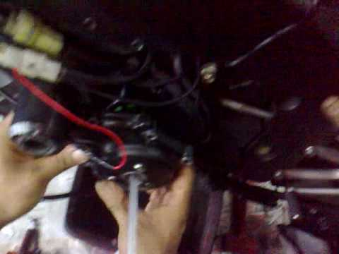 YAMAHA R107 yr Model Changed magneto,coil and rectifire (Part1)SINGAPORE