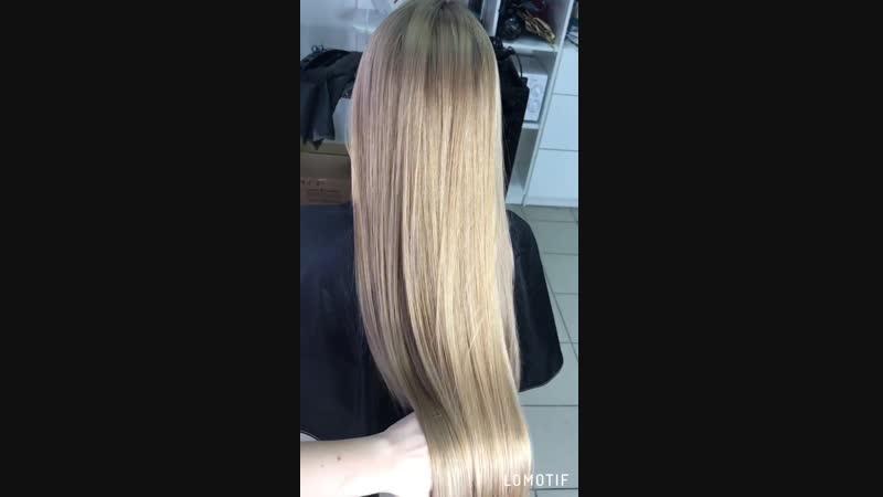 Осветление волос на масле 💫