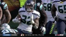 Chris Carson LANDS Front Flip While Trying to Hurdle Seahawks vs Panthers Week 12