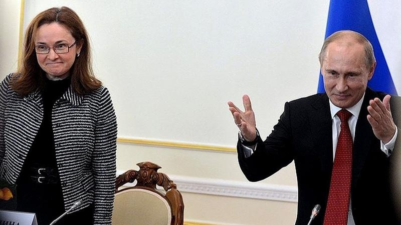 Путин : Могу БЕЗ проблем изменить конституцию РФ ! Путин поддерживает Набиул. и процентную ставку ЦБ