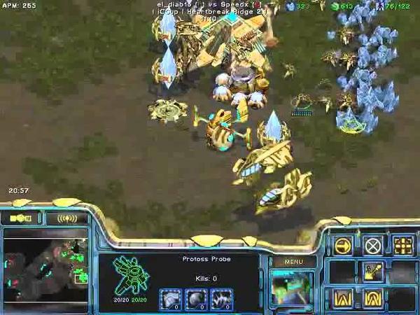 FPVOD REPS Tama vs Speedx PvZ Game 6 Starcraft Brood War 2015